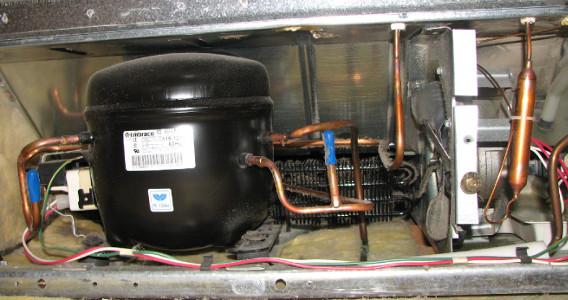کمپرسور یخچال یا موتور