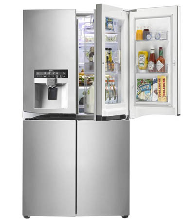تازه نصب کردن یخچال