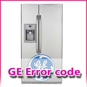 ارور یخچال جنرال الکتریک (General Electric)