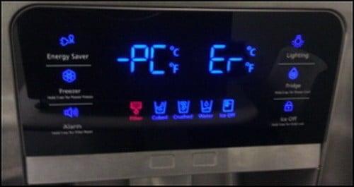 ارور PC ER در یخچال سامسونگ
